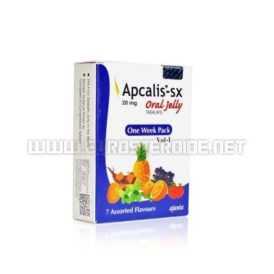 Apcalis Oral Jelly - 20mg/stück (7 stück) - Ajanta Pharma