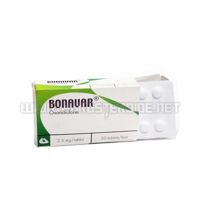 Bonavar - 2,5mg/tab (50tabs) - Body Research