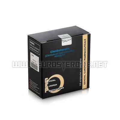 Clenbuterolic - 40mcg/ml (10amp) - GEP