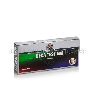 Deca Test-400 - 400mg/ml (10amp) - Malay Tiger