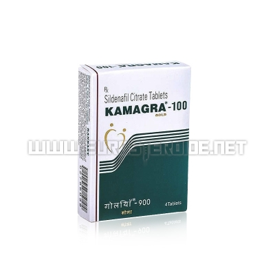 Kamagra Gold 100mg - 100mg/tab. (4tab) - Ajanta Pharma