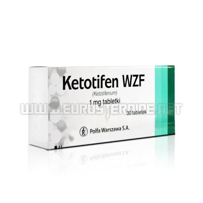 Ketotifen - 1mg/tab (30tabs) - WZF Polfa