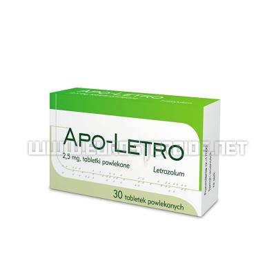 Letrozole - 2,5mg/tab (30tabs) - Apotex Europe B.V.