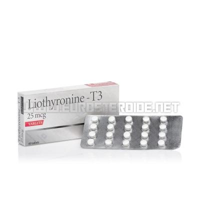 Liothyronine - T3 - 25mcg/tab (40tabs) - Swiss Remedies