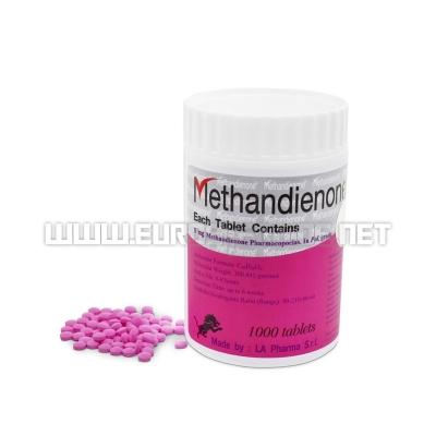 Methandienone LA 1000tabs - 5mg/tab (1000tabs) - LA Pharma