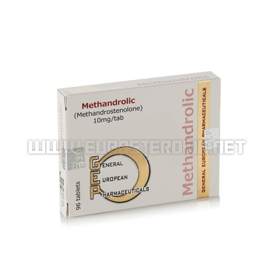 Methandrolic - 10mg/tab (96tabs) - GEP