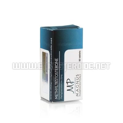 Methyltestosterone - 25mg/tab (50tabs) - Magnus Pharmaceuticals