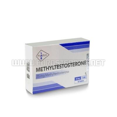 Methyltestosterone - 25mg/tab (50tabs) - Pharma Lab