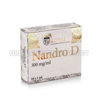 Nandro D - 300mg/ml (10amp) - Royal Pharmaceuticals