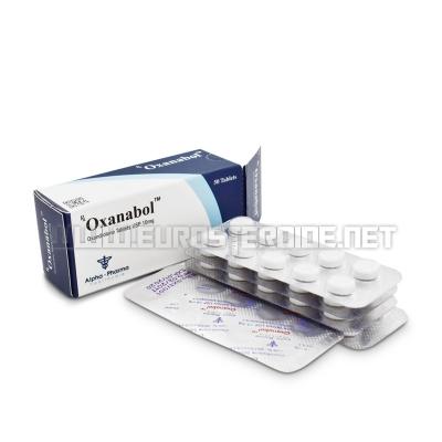 Oxanabol - 10mg/tab. (50tab) - Alpha Pharma
