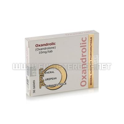 Oxandrolic - 10mg/tab (96tabs) - GEP