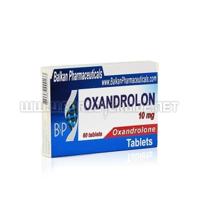 Oxandrolon - 10mg/tab (20tabs) - Balkan Pharmaceuticals