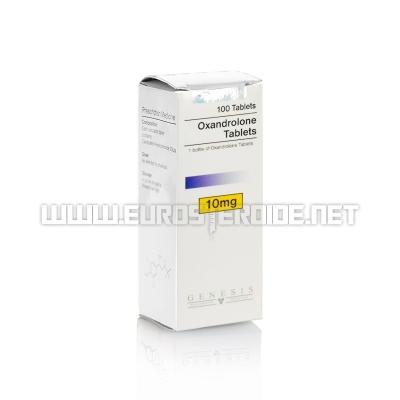 Oxandrolone tablets - 10mg/tab. (100tab) - Genesis