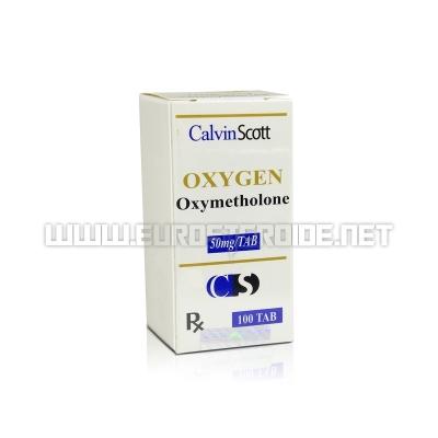 Oxygen - 50mg/tab (100tabs) - Calvin Scott