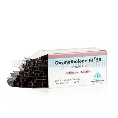 Oxymetholone IU 50 - 50mg/tab (20tabs) - Iran Hormone Teheran