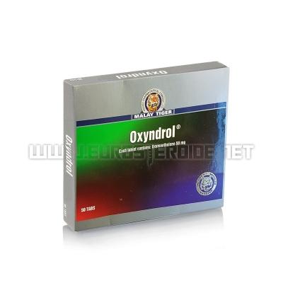 Oxyndrol - 50mg/tab (50tabs) - Malay Tiger