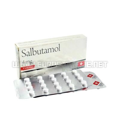 Salbutamol - 4mg/tab (100tabs) - Swiss Remedies