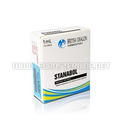Stanabol - 50mg/ml (10amp) - British Dragon