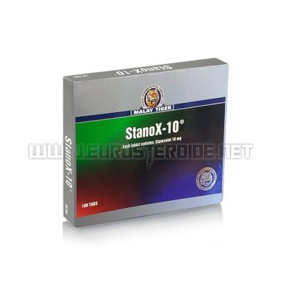 StanoX - 10mg/tab (100tabs) - Malay Tiger