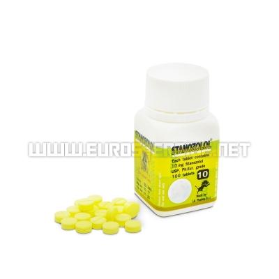 Stanozolol LA 10mg - 10mg/tab. (100tab) - LA Pharma