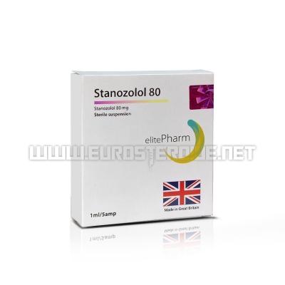 Stanozolol 80 - 80mg/ml (1amp) - Elite Pharm