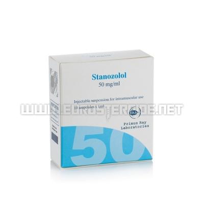 Stanozolol Inj - 50mg/ml (10amp) - Primus Ray Laboratories