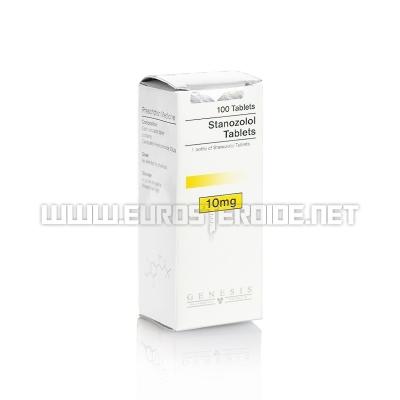 Stanozolol tablets - 10mg/tab. (100tab) - Genesis