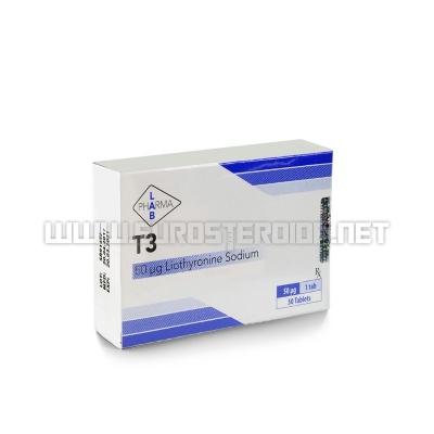 T3 - 50mcg/tab (50tabs) - Pharma Lab
