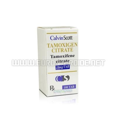 Tamoxigen Citrate - 10mg/tab (100tabs) - Calvin Scott