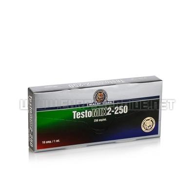 TestoMIX2-250 - 250mg/ml (10amp) - Malay Tiger