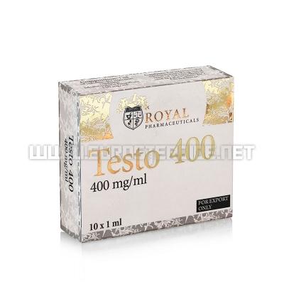 Testo-400 - 400mg/ml (10amp) - Royal Pharmaceuticals