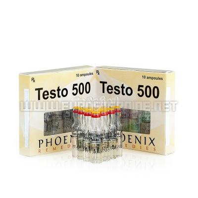 Testo 500 - 500mg/ml (10amp) - Phoenix Remedies