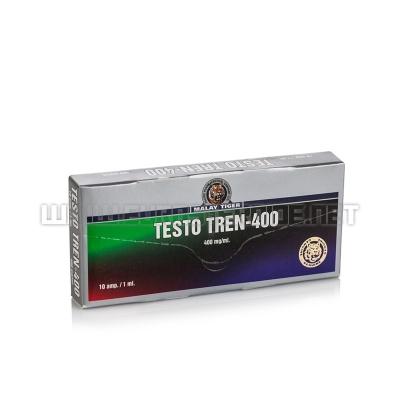 Testo Tren-400 - 400mg/ml (10amp) - Malay Tiger