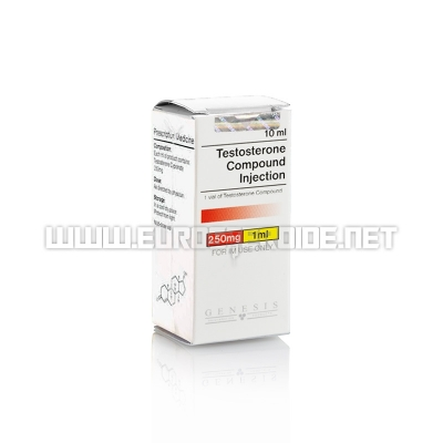 Testosterone Compound - 250mg/ml (10ml vial) - Genesis