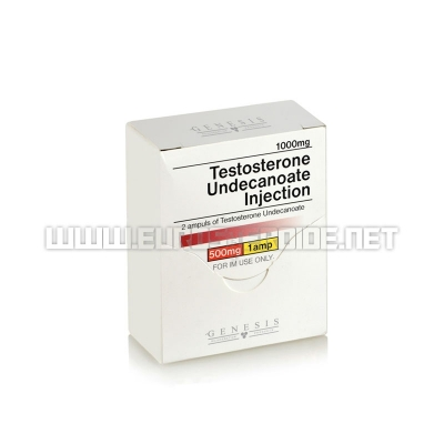 Testosterone Undecanoate Injection - 500mg/ml (2amp) - Genesis