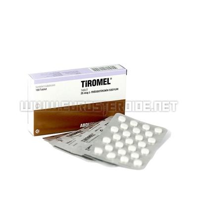 Tiromel - 25mcg/tab (100tabs) - Abdi Ibrahim