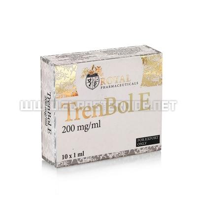 Trenbol E - 200mg/ml (10amp) - Royal Pharmaceuticals