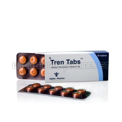 Tren Tabs - 1mg/tab (50tabs) - Alpha Pharma