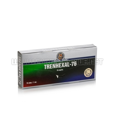 Trenhexal-76 - 76mg/ml(10amp) - Malay Tiger