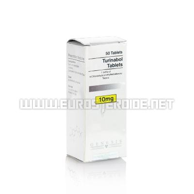 Turinabol Tablets - 10mg/tab (50tabs) - Genesis